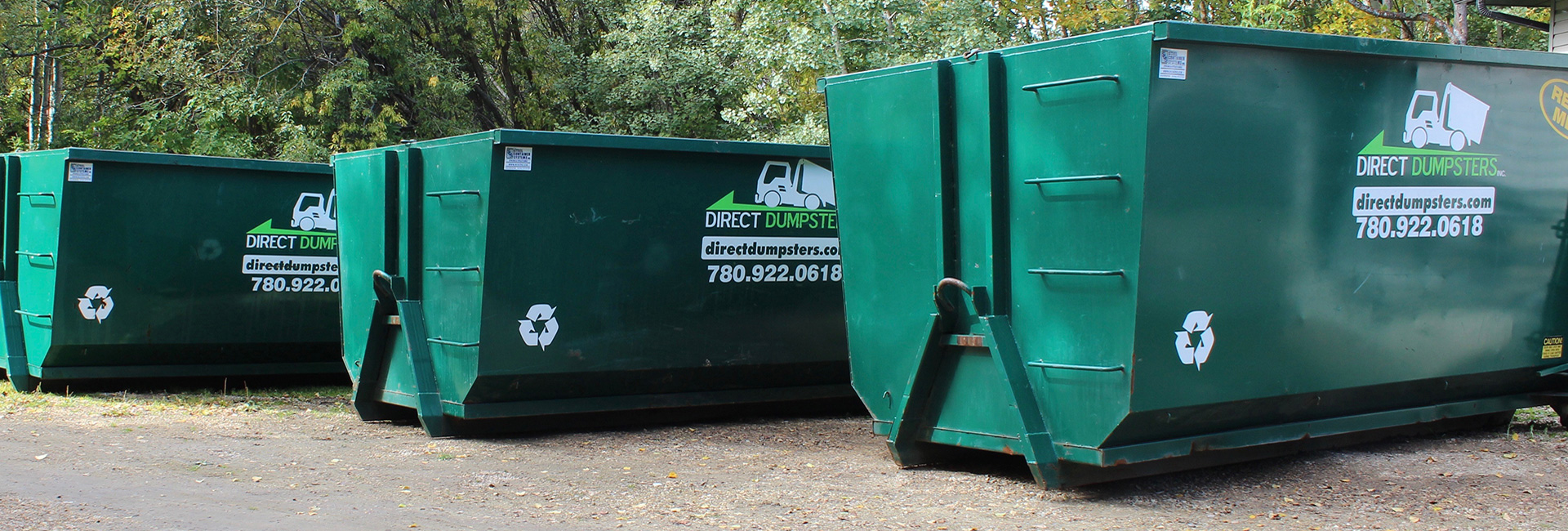 Direct Dumpsters Garbage Bin Sizes