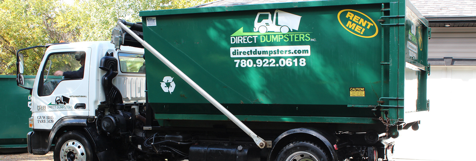 Direct Dumpsters Garbage Bin Delivery